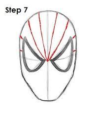 draw spider man step 6 turning elf spider man