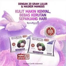 Masker Kulit Manggis Roro Mendut roro mendut mini size masker kulit manggis shopee indonesia