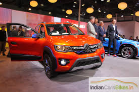 renault kwid red colour auto expo 2016 renault kwid powerful variant showcased indian