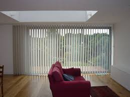 Best Blinds For Patio Doors Sliding Patio Doors One Way Vertical Blind