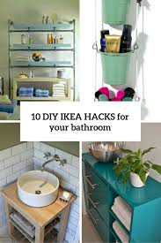 ikea small bathroom ideas 10 cool diy ikea hacks to your bathroom comfy and chic