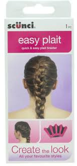 scunci easy plait budget beauty six ways to change your hair for less than 15