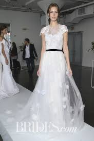 marchesa wedding dress marchesa notte tulle sheath wedding dress with lace embellishments