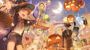 halloween anime background 66 bat hd wallpapers backgrounds wallpaper abyss