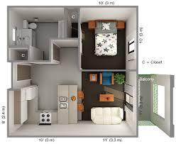1 bedroom house floor plans floor plan for 1 bedroom house ideas the
