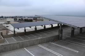 santa monica commercial solar carports greenmark solar carports