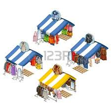 Awning Place 718 Blue Awning Stock Illustrations Cliparts And Royalty Free