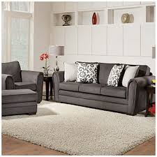 SimmonsFlannelCharcoalLivingRoomCollectionatBigLots Yes - Big lots living room sofas