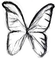 butterfly sketch drawings butterfly drawing simple butterfly