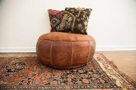 poufs ottoman leather poufs ottoman magnificent beautiful and