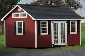 Backyard Barns And Sheds Photo Gallery Of The Lancaster Style Shed From Overholt In