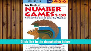 download my book of number games 1 150 kumon workbooks download