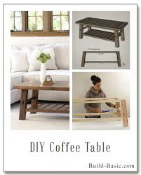 Wood Coffee Table Building Plans by Build A Diy Side Table U2039 Build Basic