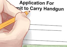how to apply for a lifetime license to carry a handgun in indiana