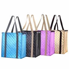 1000pcs lot wholesale custom insulated grocery tote shopping bags