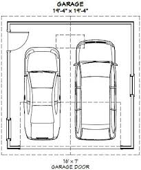dimensions of a 2 car garage dimensions of a 2 car garage standard size 2 car garage one car