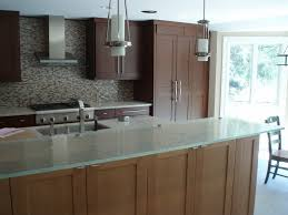 glass top kitchen island fusion glass countertop custom