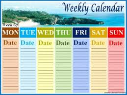 weekly calendar in microsoft word archives fine word templates