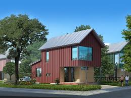 barn style plans houseplans com signature modern exterior front elevation plan 909 3 houseplans com