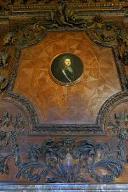 file fireplace decoration with portrait of the 1st duke of