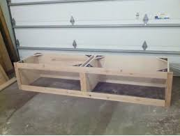 how to make entryway bench mudroom locker boot bench woodworking talk woodworkers forum