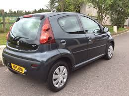 2013 peugeot 107 1 0 12v active 5dr in grey u2013 stunning with 25k