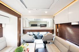 motor home interior the ultimate glamping 1 million motorhome cetusnews