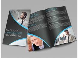 2 fold brochure template creative corporate bi fold brochure vol 14 by jason lets just