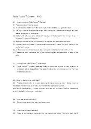 toastmasters table topics contest questions unique table topics ideas eventsbygoldman com