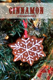 diy cinnamon ornaments s easy entertaining