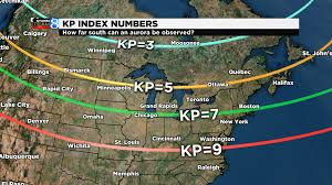 Aurora Zip Code Map by Tips On Viewing The Aurora Noaa Nws Space Weather Prediction An