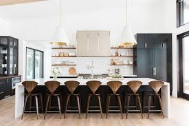 kitchen island counter stools white and black kitchen island with cherner counter stools