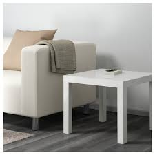white high gloss table lack side table high gloss white 55x55 cm ikea