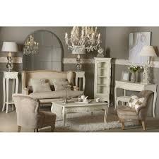 meuble valet de chambre valet de nuit comtesse 130 cm en bois patiné blanc