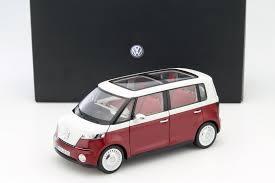 new volkswagen bus volkswagen vw bus concept car 2011 rot 1 18 norev ebay
