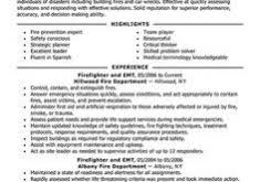 Firefighter Resume Templates Extremely Creative Firefighter Resume Examples 6 Firefighter
