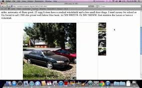 used lexus yahoo craigslist coeur d u0027alene idaho used cars for sale by owner