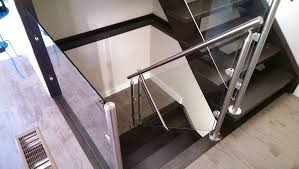 Glass Stair Banister Glass Pro America Residential Custom Railings
