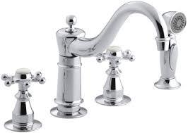 Bridge Faucets For Kitchen Modern Cross Kitchen Faucets Allmodern