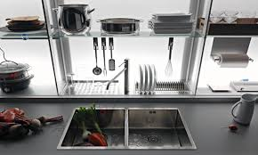 valcucine new logica u2013 ergonomically designed hidden kitchen
