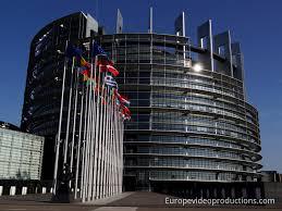 si e du parlement europ n photo bâtiment du parlement européen à strasbourg en alsace