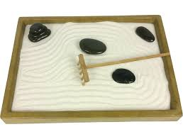 zen sand garden for desk japanese sand garden mini landscape