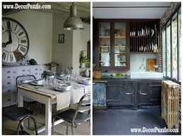 industrial style kitchen decor and furniture secrets