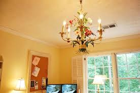 Tole Chandelier A Tole Chandelier Pottery Barn Bedford Home Office Craft U0026 Sewing
