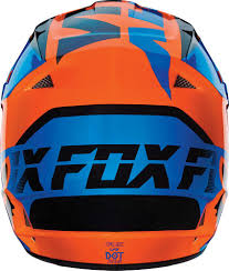 blue motocross helmet 2016 fox racing v1 mako helmet motocross dirtbike offroad mens