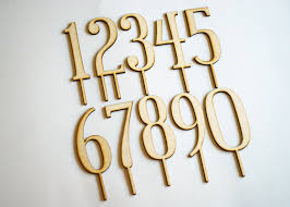 wood cake toppers wood number cake toppers for birthday and anniversary cakes
