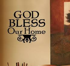 religious decorations for home god bless our home bible religious quote vinyl wall sticker adhesive