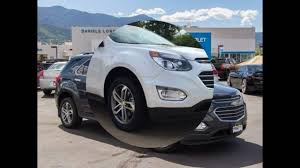 new 2017 the chevrolet equinox premier 3 6l v6 awd suv release