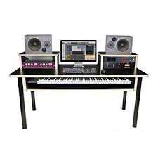 amazon com az studio workstations keyboard studio desk musical