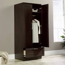 free standing clothes closet with doors home design ideas